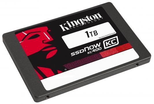 "SSD Твердотельный накопитель 2.5"" 1Tb Kingston SSDNow KC400  Read 550Mb/s Write 530Mb/s SATAIII SKC400S37/1T"