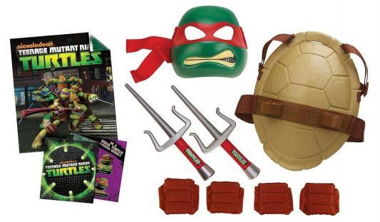 Игровой набор TMNT Полного боевого снаряжения Черепашки Ниндзя Рафаэль 8 предметов
