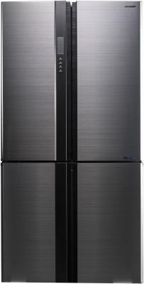 Холодильник Sharp SJ-EX98FSL серебристый sharp r 8772nsl