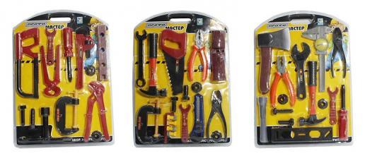 Набор инструментов 1Toy Профи-мастер 9 предметов Т56254 в ассортименте