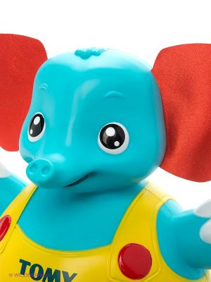 цена на Интерактивная игрушка Tomy Слоник учится ходить от 6 месяцев разноцветный ТО72228