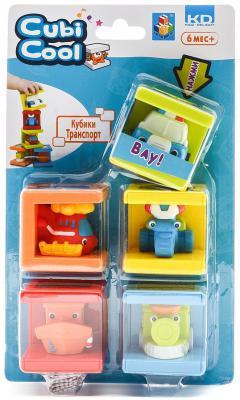 Кубики 1 Toy Транспорт Kidz Delight