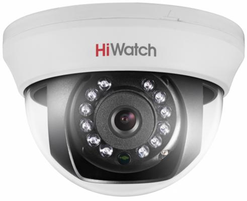 "Видеокамера Hikvision DS-T101 CMOS 1/4"" 2.8 мм 1296 х 732 HD-TVI белый"