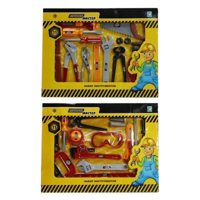 Набор инструментов 1Toy Профи-мастер 11 предметов Т56251 в ассортименте