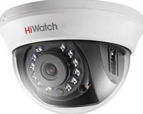 """Камера видеонаблюдения Hikvision DS-T101 внутренняя цветная 1/4"""" CMOS 3.6мм ИК до 20 м"""