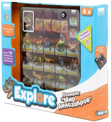 Обучающий планшет 1 Toy Мир динозавров