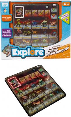 Детский обучающий планшет 1 Toy Мир динозавров
