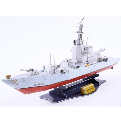 Пазл 3D 1 Toy Super Battleship - Военный линкор 120 элементов 8887856582186
