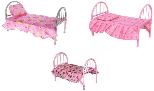 1toy Кроватка для кукол, 46х27х29см Т53135