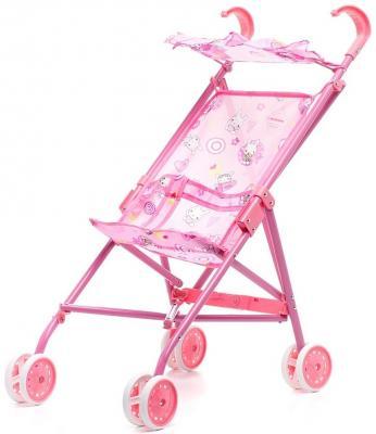 Коляска для кукол 1Toy Т52256 1toy транспорт для кукол коляска цвет синий