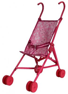 Коляска для кукол 1Toy Красотка Т52254 1toy транспорт для кукол коляска цвет синий