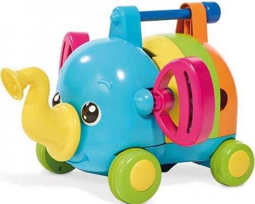 Интерактивная игрушка Tomy Слонёнок-Оркестр от 1 года разноцветный ТО72377