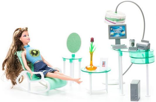 Набор мебели 1Toy офис - Красотка Т54498 набор мебели 1toy красотка гламур кухня т54506