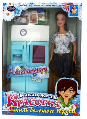 """Набор мебели 1Toy """"Красотка"""" - холодильник Т54496"""