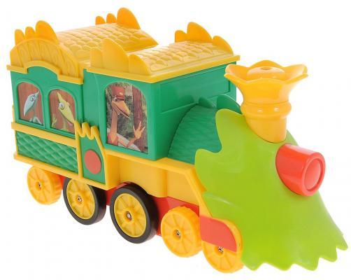 Игрушка на радиоуправлении Tomy Поезд Динозавров пластик от 3 лет разноцветный