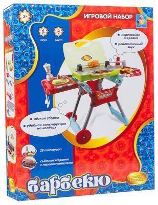 Игровой набор 1Toy Столик для барбекю (свет, звук) Т56738