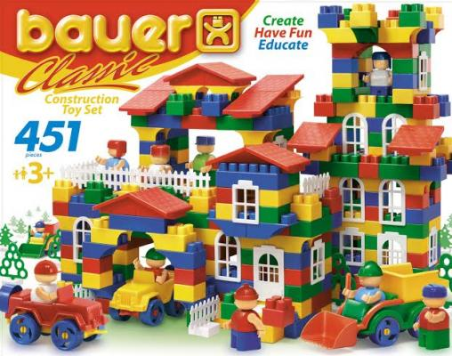 Конструктор Bauer Classic 451 элемент 200 bauer bauer конструктор classic 451 элемент