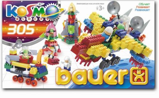 Конструктор Bauer Космос 305 элементов bauer космос 305эл