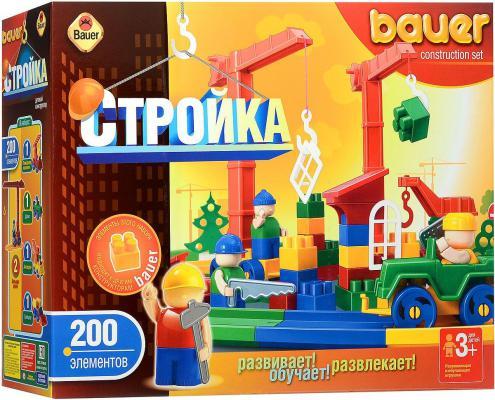 Конструктор Bauer Стройка 200 элементов 203 203. rg512 g50711 203