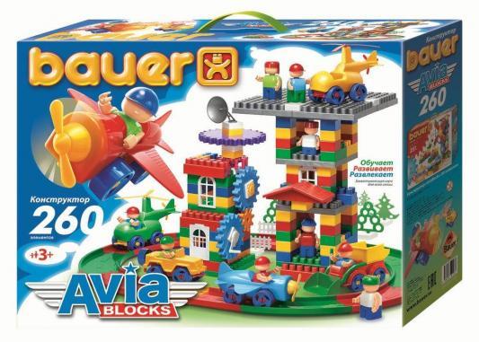 Конструктор Bauer Avia 260 элементов 247 bauer bauer динамический конструктор лабиринт с шариками питон 58 элементов