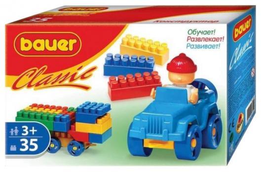 Конструктор Bauer Classic 35 элементов конструкторы bauer стройка 50 элементов