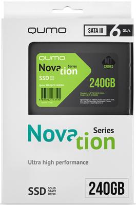 """SSD Твердотельный накопитель 2.5"""" 240GB QUMO QMT-240GSN SATAIII"""