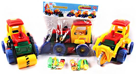 Конструктор-скрутка Play Smart Строительная машина play smart play smart конструктор умная стройка грузовой термнал