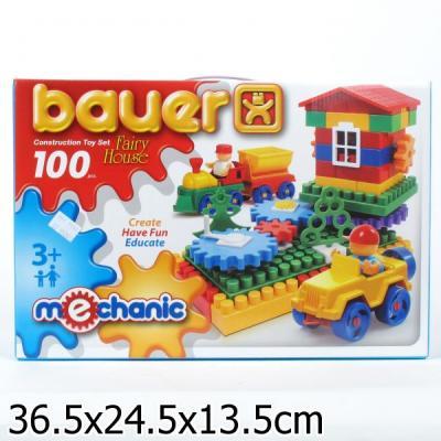 Конструктор Bauer Mechanic Избушка 100 элементов 189