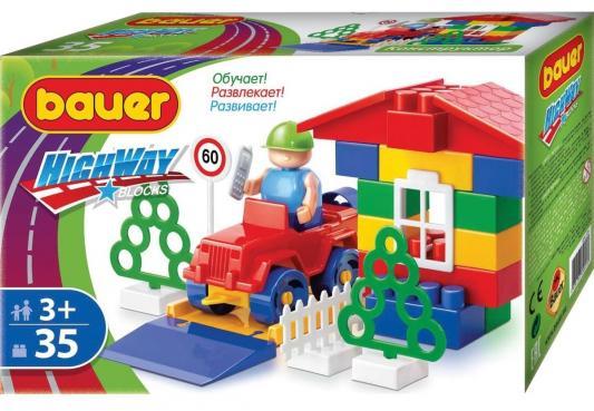 Конструктор Bauer Автодорога 35 элементов