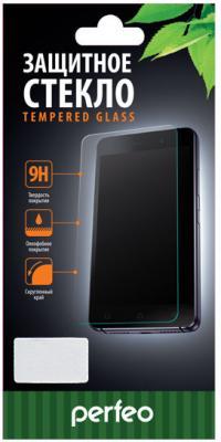 Защитное стекло 3D Perfeo для iPhone 6 iPhone 6S 0.33 мм для черного PF-TG3DGG-IPH6-BLK защитное стекло с силиконовыми краями perfeo для черного iphone 6 6s глянцевое pf tg3d iph6 blk
