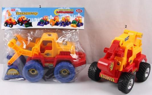 Конструктор Play Smart Строительные машины - Экскаватор play smart play smart конструктор умная стройка грузовой термнал