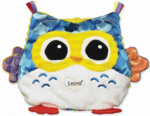 Мягкая игрушка сова Tomy Сова-Ночничок с подсветкой текстиль разноцветный ТО27163