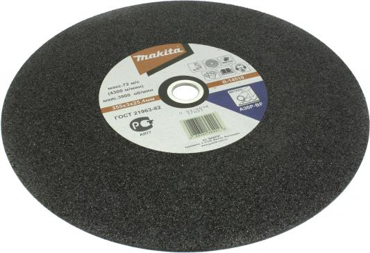 Отрезной диск Makita 355х25.4х3мм по металлу 5 шт B-14510-5 круг отрезной makita в 14510 5 355 3 25 4