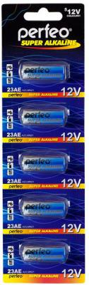 Батарейки Perfeo 23AE/5BL A23 5 шт