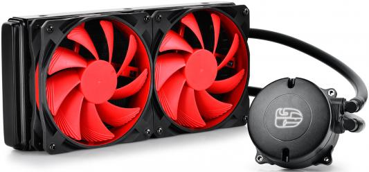 Кулер для процессора Deepcool MAELSTROM 240 Socket S775/ S1150/1151/1155/1156/S1356/1366/S2011 кулер для процессора deepcool maelstrom 240t maelstrom 240t
