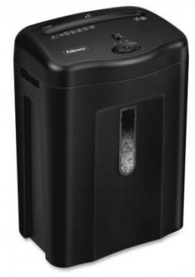 Уничтожитель бумаг Fellowes Powershred 11C 11 листов 18л FS-4350201 fellowes powershred 99ci black шредер