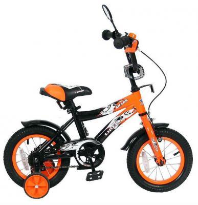 """Велосипед Velolider LIDER SHARK 12"""" 12A-1287OR оранжевый/черный"""