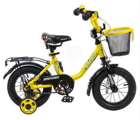 """Велосипед Velolider LIDER STARK 12"""" 12U-009YH желтый/черный"""