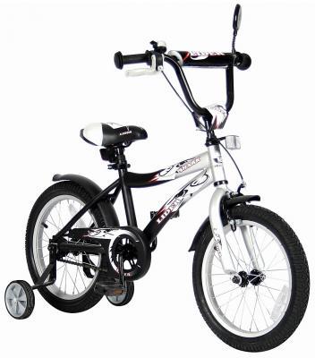 "Велосипед Velolider LIDER SHARK 14"" 14A-1487GR серый/черный"