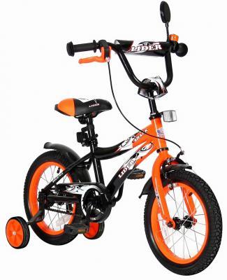 """Велосипед Velolider LIDER SHARK 14"""" 14A-1487OR оранжевый/черный"""