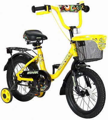 """Велосипед Velolider LIDER STARK 14"""" 14U-009YH желтый/черный"""