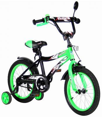 "Велосипед Velolider LIDER SHARK 16"" 16A-1687GN зеленый/черный"