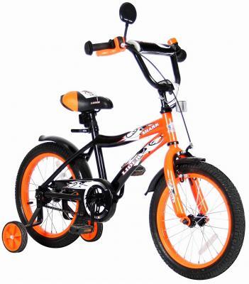 """Велосипед Velolider LIDER SHARK 16"""" 16A-1687OR оранжевый/черный"""