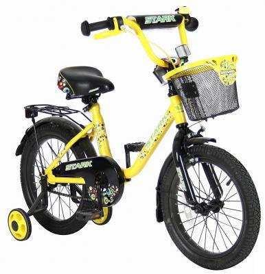 """Велосипед Velolider LIDER STARK 16"""" 16U-009YH желтый/черный"""