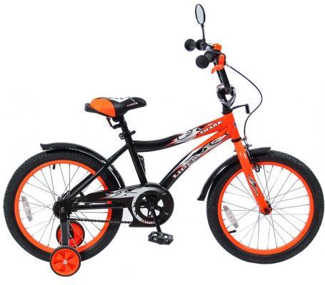 Велосипед Velolider LIDER SHARK 18 18A-1887OR оранжевый/черный велосипед velolider rush army 18 ra18 хаки