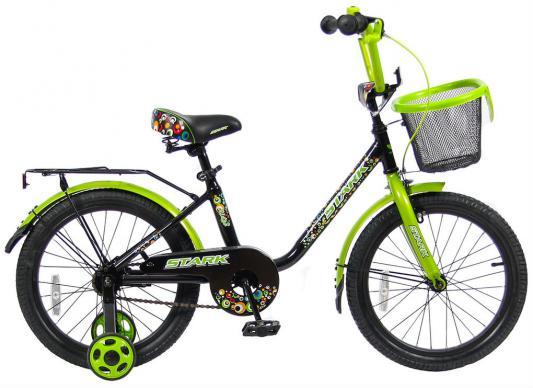 "Велосипед Velolider LIDER STARK 18"" 18U-009HG черный/зеленый"