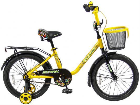 """Велосипед Velolider LIDER STARK 18"""" 18U-009YH желтый/черный"""