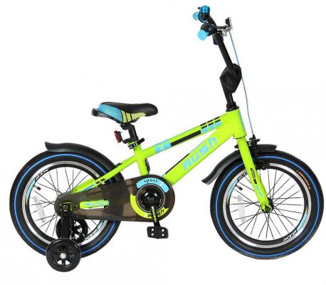 Велосипед Velolider RUSH SPORT 16 зеленый R16G velolider velolider велосипед 2 х колесный 16 rush sport зеленый