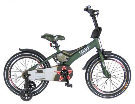 Велосипед Velolider RUSH ARMY 16 RA16 хаки velolider ra16 2 х колесный велосипед 16 rush army хаки