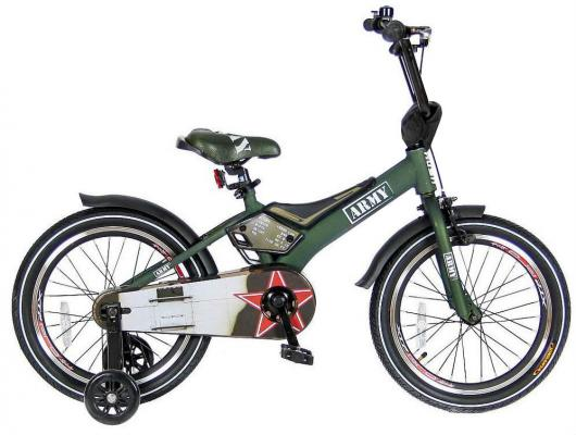 Велосипед Velolider RUSH ARMY 18 RA18 хаки velolider велосипед двухколесный rush army 16